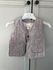 Monsoon Baby 18-24 Months Linen Waistcoat