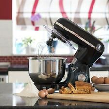 Jack Stonehouse Food Stand Mixer - 1400W - 5.5L Bowl - Black
