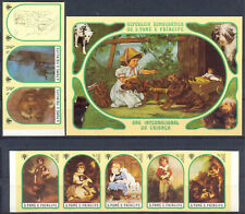 Sao Tome 1981 Paintings. Dogs, set +  s/sh. IMPERF. MNH Mi: 48.00 Euro