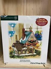 New listing Department 56 Alpine Village Series Weihnachten Glashutte Glass Ornament Factory