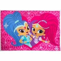 OFFICIAL SHIMMER & SHINE ZAHRAMAY FLEECE BLANKET SOFT GIRLS