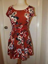 Women's  Dress Clothing Apparel Summer Casual Short Sleevves Floral Print
