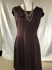 Next Women's Plum Stretch Dress (UK16/VGC)