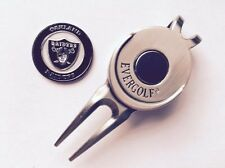 Nfl Oakland Raiders Golf Ball Marker and Magnetic Divot Tool
