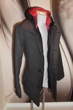 Superdry Zip Hip Length Wool Coats & Jackets for Men