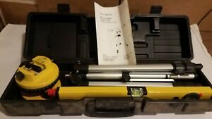 Laser Level with Tripod and Case