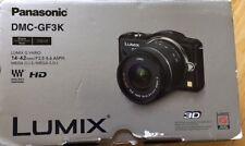 Panasonic Lumix DMC-GF3KK Micro 4/3 Mirrorless Digital Camera with 3-Inch *!