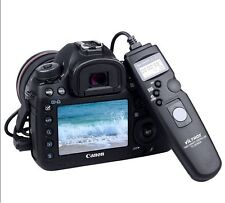 Wired Timer Remote Control Shutter Release for Canon 1100D 1000D 600D 550D 750D