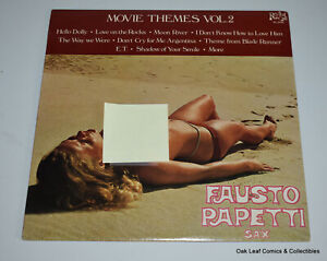 Fausto Papetti Movie Themes V2 Sax Cheesecake Nude Cover Record LP 1984 NM