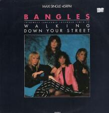 "Bangles(12"" Vinyl P/S)Walking Down Your Street-CBS-650280 6-Netherlands-VG/NM"