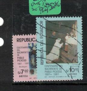 Ecuador SC 728-9 Art Picasso VFU (1eva)