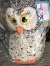 NEW In Package Girl Scouts Owl Plush Toy 100 Yr Anniversary Brownie Baker Soft