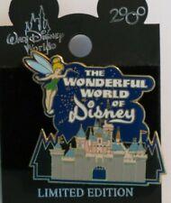 Disney Wdw The Wonderful World Of Disney Tinker Bell Castle Le 7500 Pin