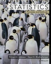 Statistics : Principles and Methods (US PAPERBACK STUDENT 7th Edition)