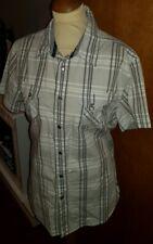 GUESS MEN'S FABULOUS AUTHENTIC Check Shirt Size L
