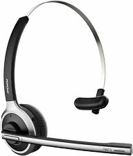 New listing Mpow M5 Trucker Office Bluetooth Headset Noise Cancelling Headphone Call Center
