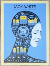 2018 Jack White - Portland Silkscreen Concert Poster S/N by Methane Studios