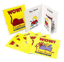 WOW! I can Read Red Reader  Set 2 - 6 Books Early Literacy Teacher Resource