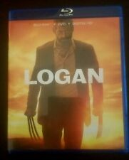 LOGAN 2 Blu rays + DVD + Digital HD includes LOGAN NOIR Like New
