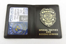 RESIDENT EVIL S.T.A.R.S. Raccoon Chris Redfield DSS Badge ID Card Wallet Holder