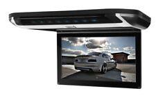 "PANTALLA TECHO COCHE UNIVERSAL LCD 10"" HD SD USB HDMI JUEGOS ALTAVOCES LUZ LED"