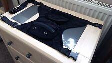 Pana Cintura Cinturón Negro Gota de pierna Bolsa Multi Bolsillo