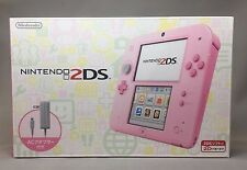 Nintendo 2DS Console System. Pink [Japanese Version] New Item. Free Shipping.