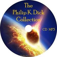 Philip K. Dick Audio Book Collection Unabridged Sci-Fi on 1 MP3 CD English