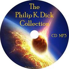 Philip K. Dick Audio Book Collection Unabridged Sci-Fi on 1 MP3 CD English