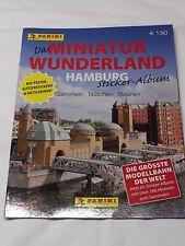 Panini Miniatur Wunderland Hamburg 2010 65 Sticker inkl. Glitzer 02/18 !!!