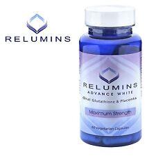 Relumins Advanced White Oral Glutathione White Caps NEW w/ Rose Hips*