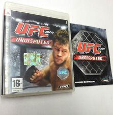 UFC 2009 UNDISPUTED  PS3  USATO FUNZIONANTE