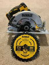 "New Just Released DeWalt 20V Power Detect Max Xr Dcs574 7-1/4"" Circular Saw"