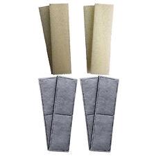 4 X Compatible Fluval U4 de espuma y se los cartuchos de filtro interno Esponjas