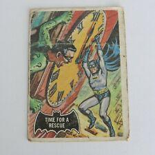 1966 A&BC Batman Black Bat #41 Time for a Rescue Printed in Canada
