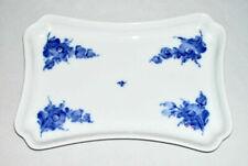 Royal Copenhagen ~ Fine Porcelain Tray (Blue Flowers Braided, #8181) ~ Denmark