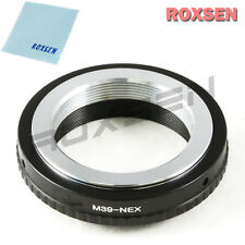 Leica M39 L39 LTM lens to Sony NEX E mount adapter NEX-5T 7 6 3N A7 A7R A6300