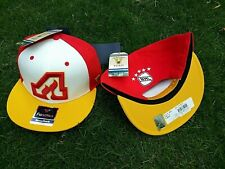 ATLANTA FLAMES NHL PRO HOCKEY RETRO RED WHITE SNAPBACK ADJUSTABLE HAT CAP NEW