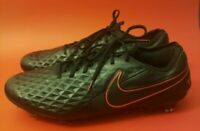 Nike Mens SZ 11 Tiempo Legend 8 Elite ACC FG Soccer Cleats Black Red AT5293 060