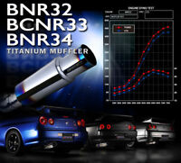 TOMEI EXPREME Ti CATBACK EXHAUST FIT NISSAN SKYLINE RB26DETT GT-R R34 TWIN-TURBO