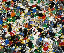 LEGO BULK LOT OF 50 MINIFIGURE TORSOS WITH HANDS TOWN POLICE CITY MINIFIGS