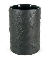 Rosenthal porcelana jarrón Björn wiinblad Design porcelaine noire 60er 70er años