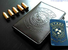 Resident Evil GAME LEATHER POLICE BADGE/ID WALLET HOLDER CASE WITH BADGE-B009