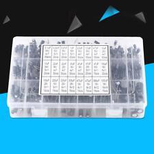 500pcs 24 Value Electrolytic Capacitor Kit Assortment 0.1~1000uF 16~50V with Box