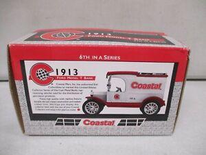 Ertl Coastal 1913 Ford Model T Bank 1/25 Lot 1