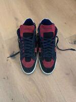 Suede saint laurent sneakers 42