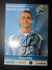 1302 Chemnitzer FC CFC Steffen Kellig 2007 - 2008 original signierte AK