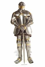 KNIGHT IN SHINING ARMOUR LIFESIZE CARDBOARD CUTOUT Suit of Armour