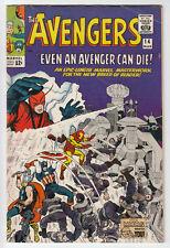 AVENGERS # 14 WATCHER Stan Lee JACK KIRBY DON HECK 1965 Marvel Comic VG++