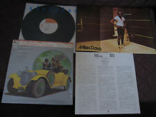 Miles Davis Jack Johnson Japan Original Vinyl LP with Shrink Poster Top Cap OBI